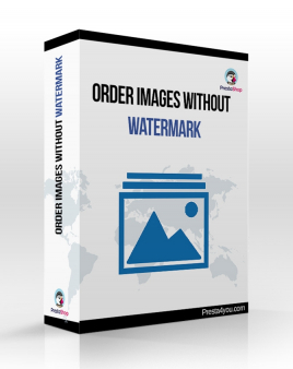 Order images without watermark